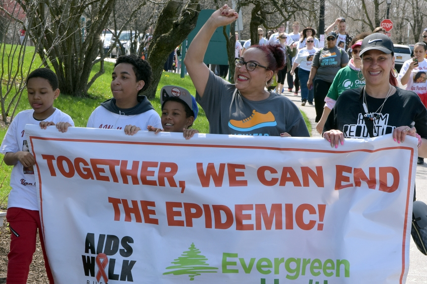 Thank you for supporting Evergreen Health at AIDS Walk Buffalo!