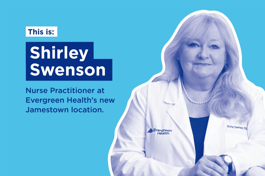 Evergreen Nurse Practitioner Shirley Swenson Has Something to Tell You About HIV